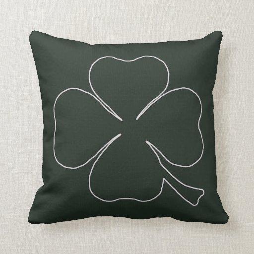 Almohada verde del trébol