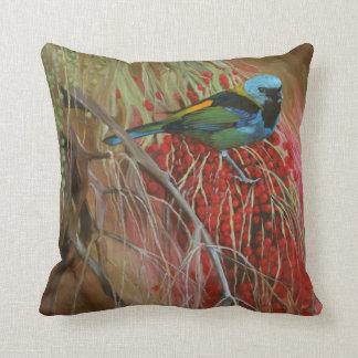 almohada Verde-dirigida de la bella arte del Tanag