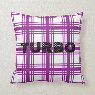 Almohada (violeta) de Turbo
