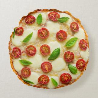 Almohada Zesty deliciosa de la pizza Cojín Redondo
