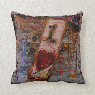almohadas abstractas de un amor