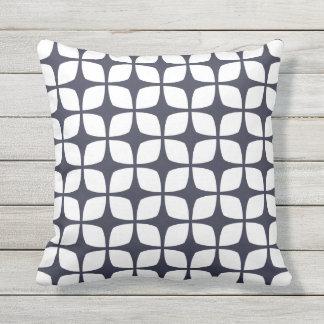Almohadas al aire libre de los azules marinos - cojín decorativo