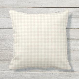 Almohadas al aire libre del modelo de marfil de la cojín decorativo