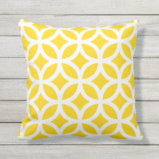 Almohadas al aire libre del modelo geométrico cojín decorativo
