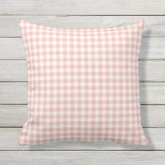 Almohadas al aire libre del modelo rosado de la cojín decorativo