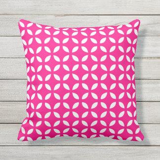 Almohadas al aire libre geométricas de las rosas cojín decorativo