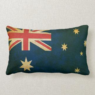 Almohadas australianas de la bandera nacional