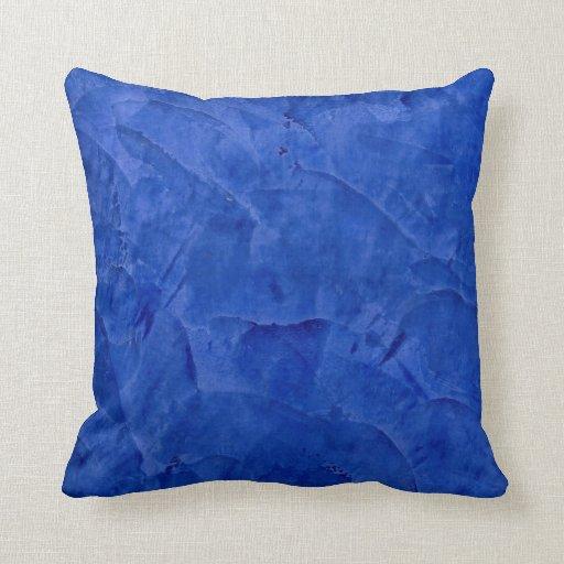 Almohadas azules toscanas