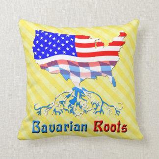 Almohadas bávaras americanas de las raíces