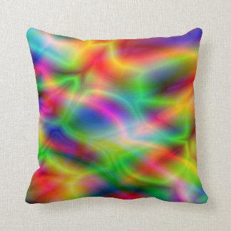 Almohadas coloridas de la abstracción