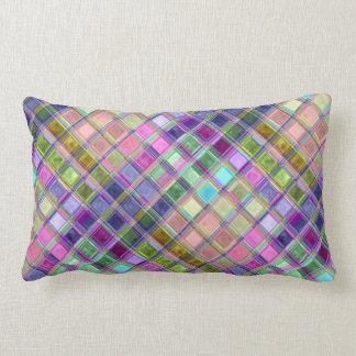 Almohadas coloridas del arte del mosaico