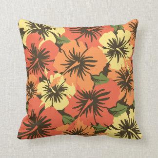 Almohadas cuadradas decorativas hawaianas del