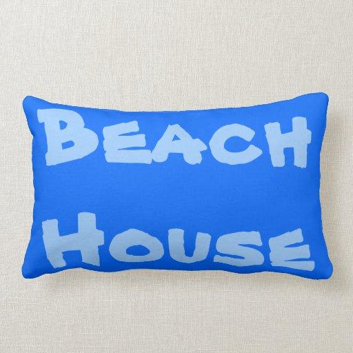Almohadas de la casa de playa