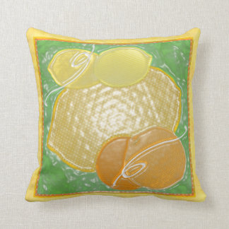 almohadas de la fruta 3D