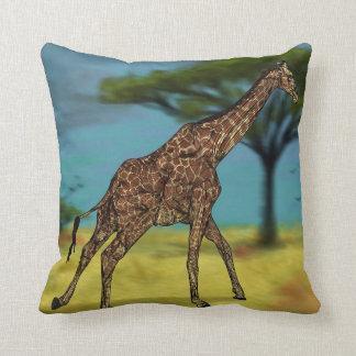 Almohadas de la jirafa