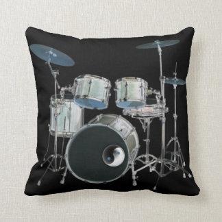 Almohadas de los tambores cojín decorativo