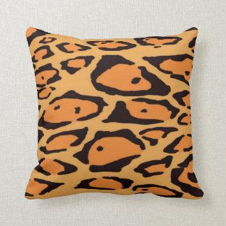 Almohadas de MoJo del americano del naranja