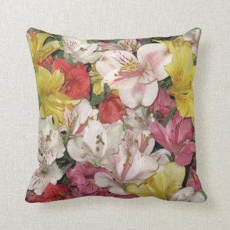Almohadas de MoJo del americano del ramo floral