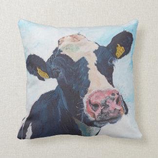 Almohadas de MoJo del americano - vaca frisia irla