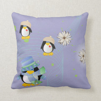 Almohadas de MoJo del pingüino