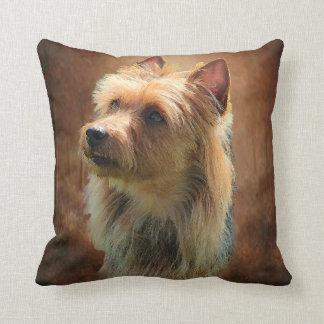 Almohadas de Terrier australiano