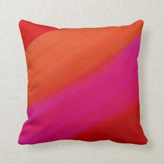 Almohadas de tiro anaranjadas para el sofá