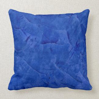 Almohadas de tiro azul marino toscanas