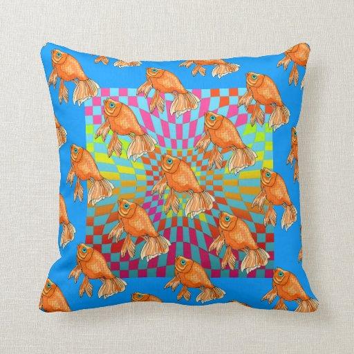 Almohadas de tiro coloridas del tema de los cojín decorativo