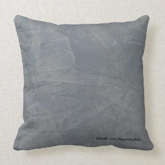 Almohadas de tiro de piedra del modelo del yeso de