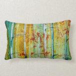 Almohadas de tiro - decoración de la caída - árbol