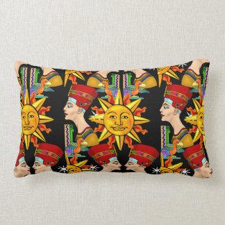 Almohadas de tiro egipcias imponentes del diseño cojín lumbar