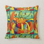 Almohadas de tiro imponentes del diseño del arte m