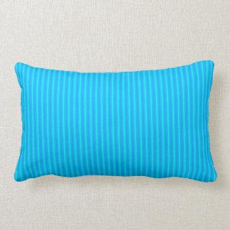 Almohadas de tiro rayadas coloridas de Blue> de la