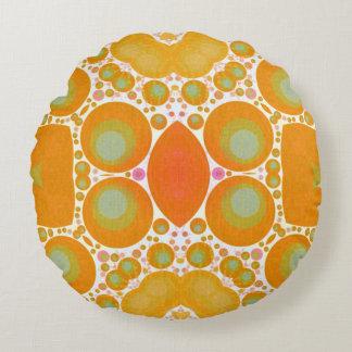 Almohadas de tiro redondas del modelo abstracto