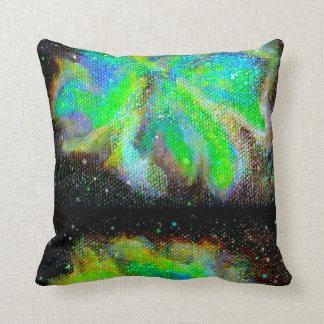 Almohadas de tiro reversibles de la nebulosa y del cojín decorativo