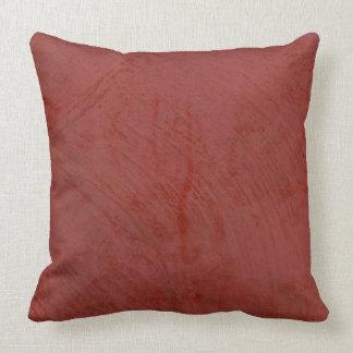 Almohadas de tiro rojas toscanas