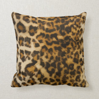 Almohadas de tiro salvajes del leopardo