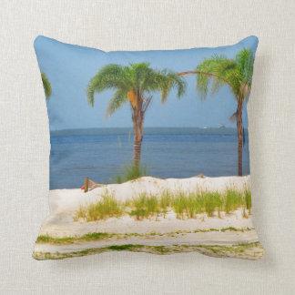 Almohadas de tiro temáticas de la playa