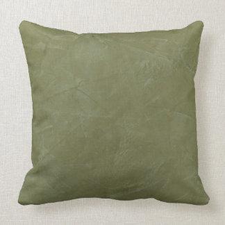 Almohadas de tiro verdes toscanas
