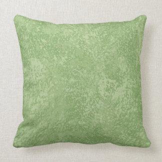 Almohadas de tiro verdes toscanas de Marmorino