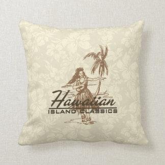 Almohadas decorativas de la isla hawaiana de Trade
