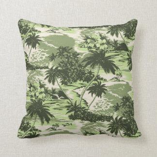 Almohadas decorativas hawaianas de la bahía de