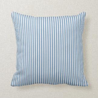 Almohadas decorativas rayadas azules de la cojín decorativo