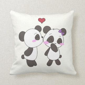 ¡Almohadas del amor de la panda! <3 Almohada