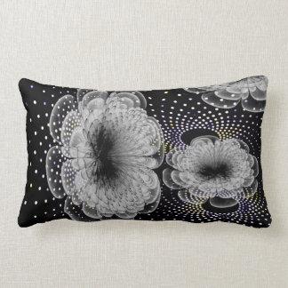 almohadas del apoyo lumbar del diseño floral 3D