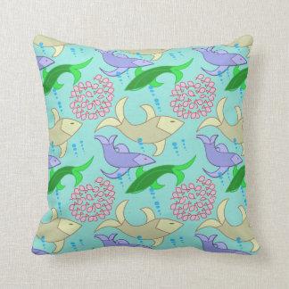 almohadas del diseño de los pescados cojín decorativo