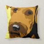 Almohadas del perro de Airedale Terrier