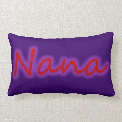 Almohadas del resplandor de Nana