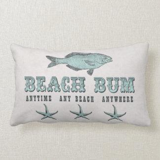 Almohadas del vago de la playa del estilo del vint