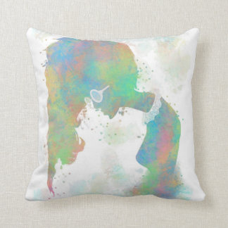 Almohadas en colores pastel de MoJo del americano